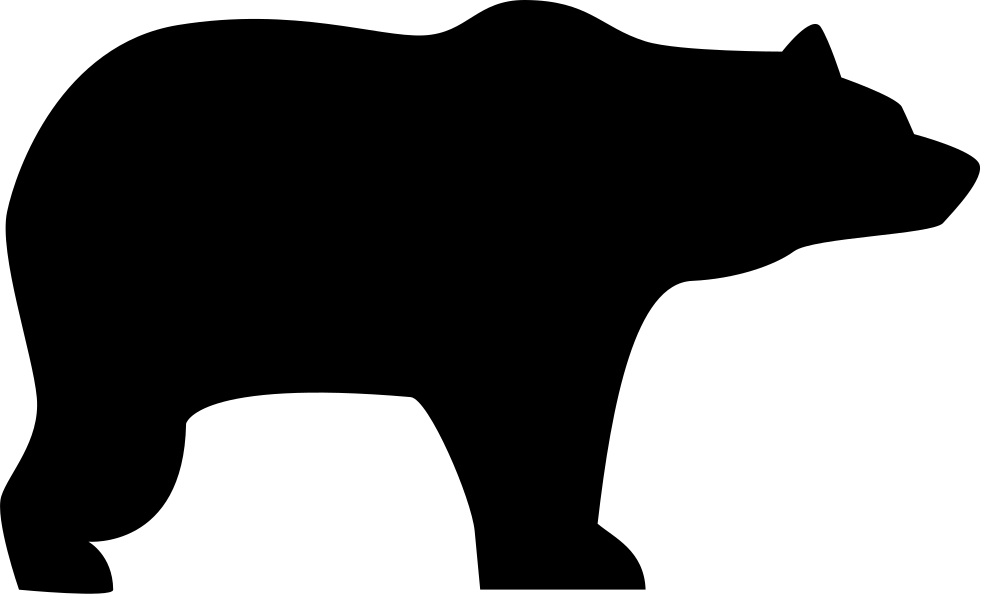 Bear Facing Right Svg Icon