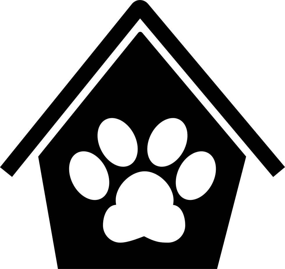 Dog Pawprint In A House
