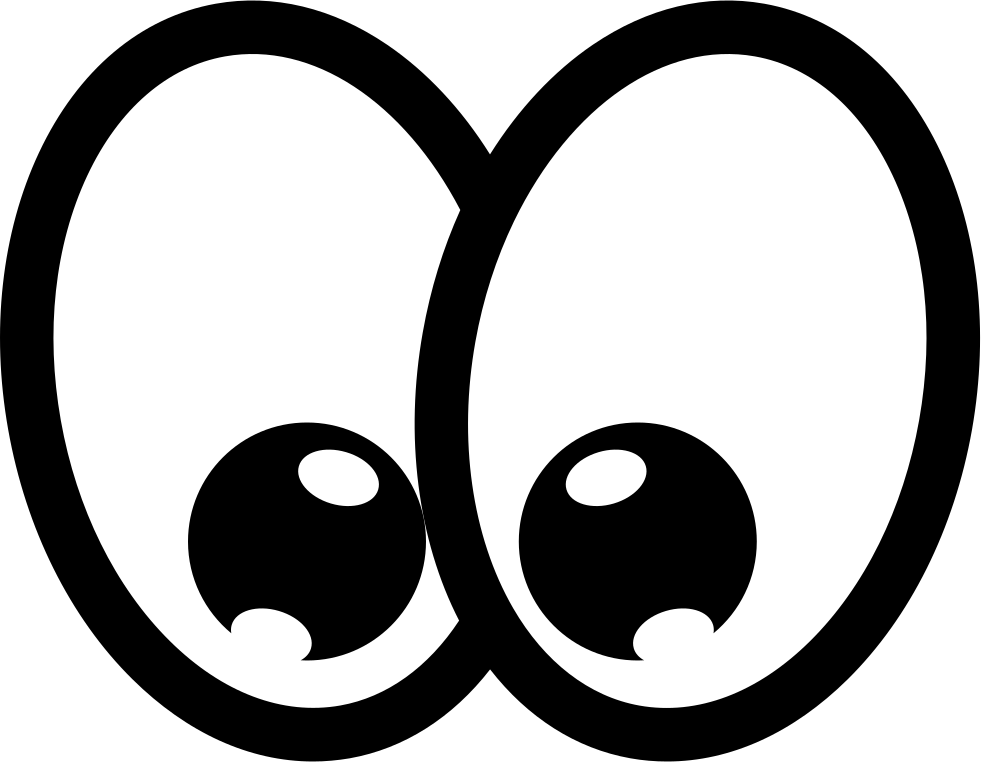Cartoon Happy Eyes Svg Png Icon Free Download (#74504