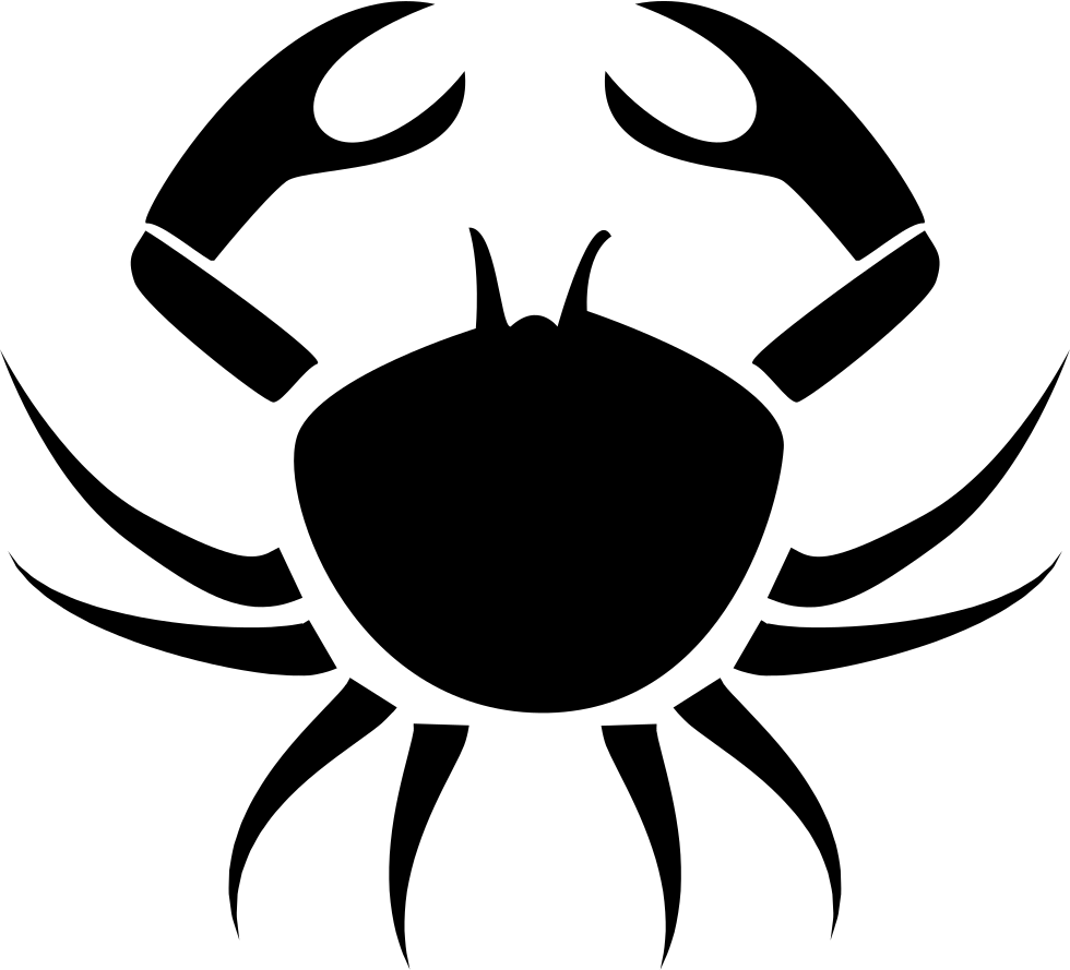 Crab Cancer Symbol
