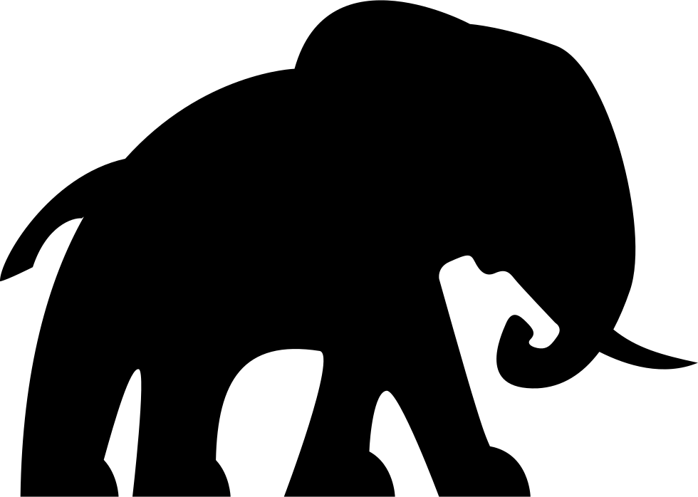 Elephant Facing Right Svg Png Icon Free Download 74685