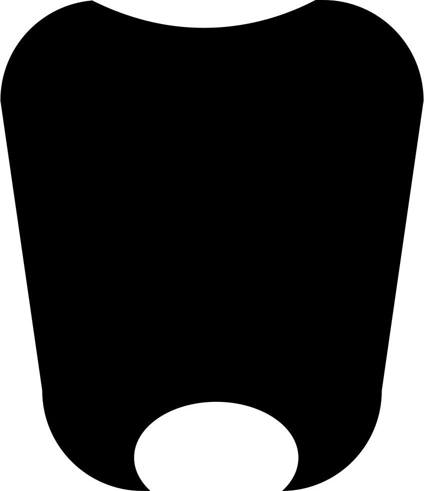 Tooth Shaped Shield