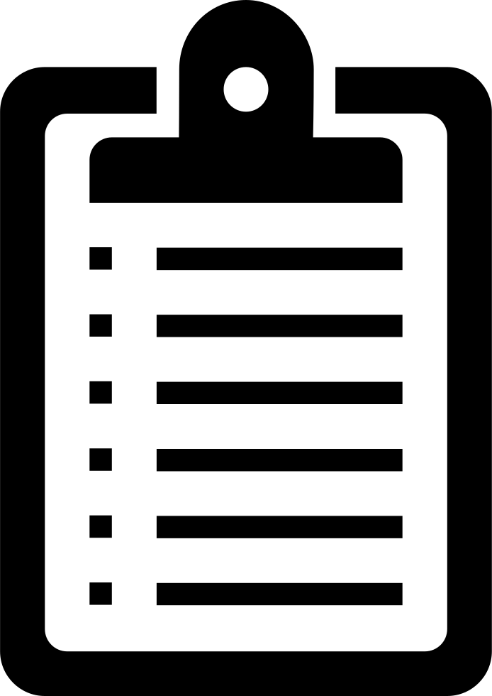Clipboard List Board