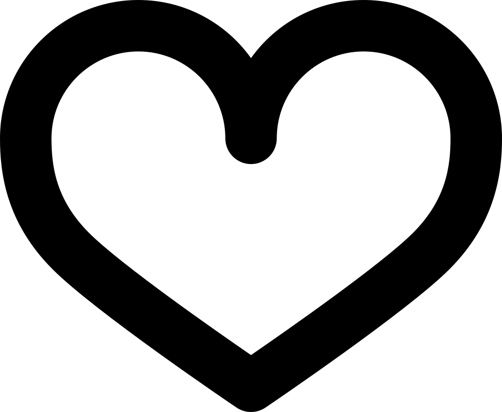 Heart Outline Svg Png Icon Free Download (#84746 ...