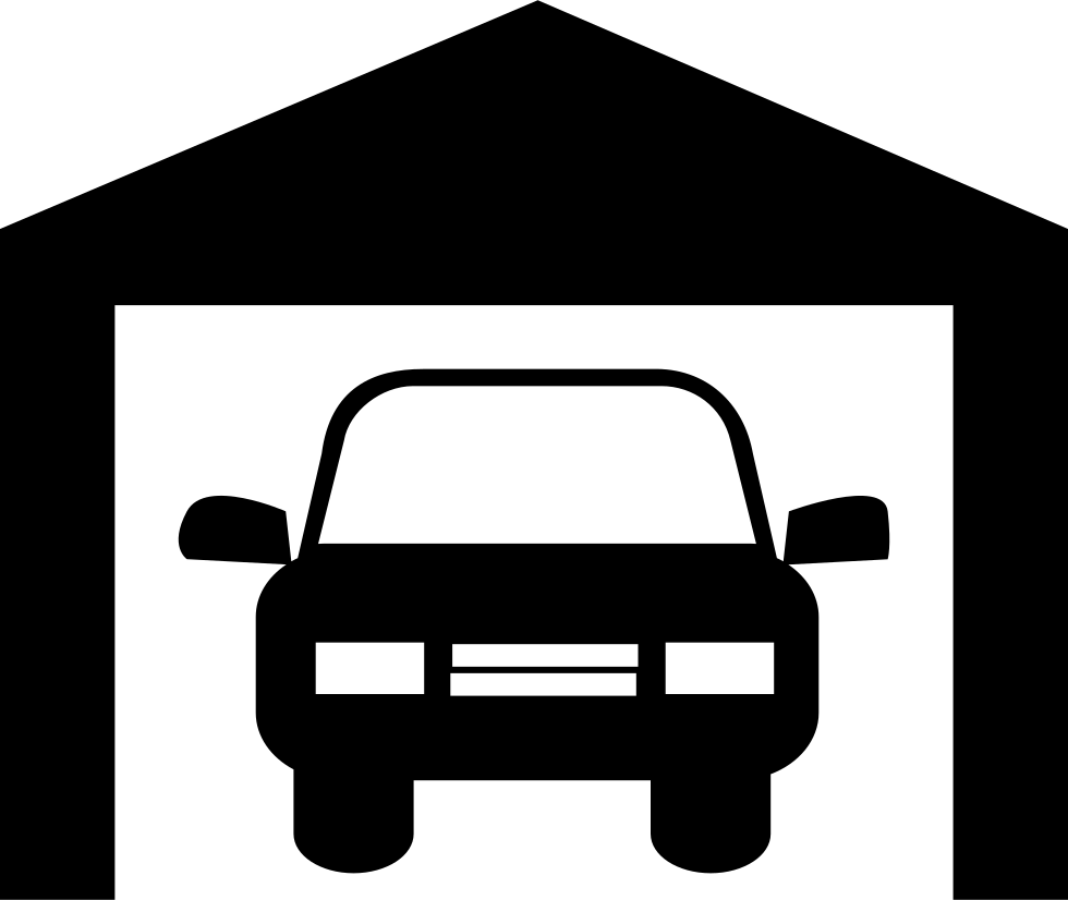 Car In A Garage Svg Png Icon Free Download (#8827 ...