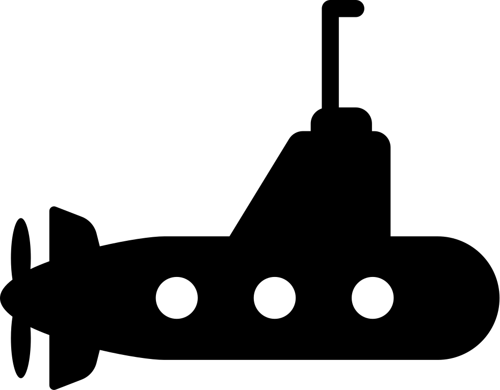 Submarine With Propeller