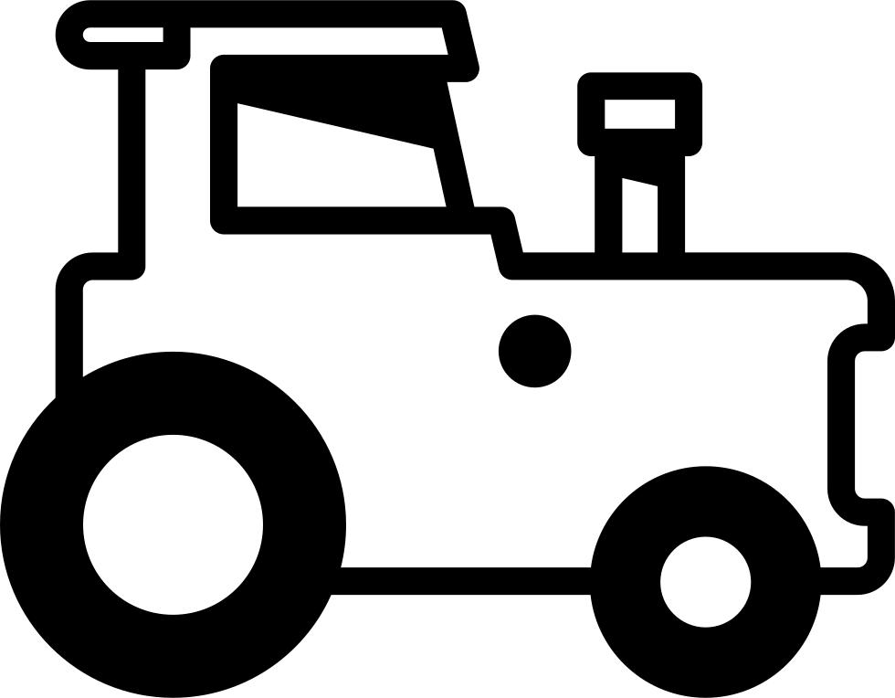 Tractor Facing Right