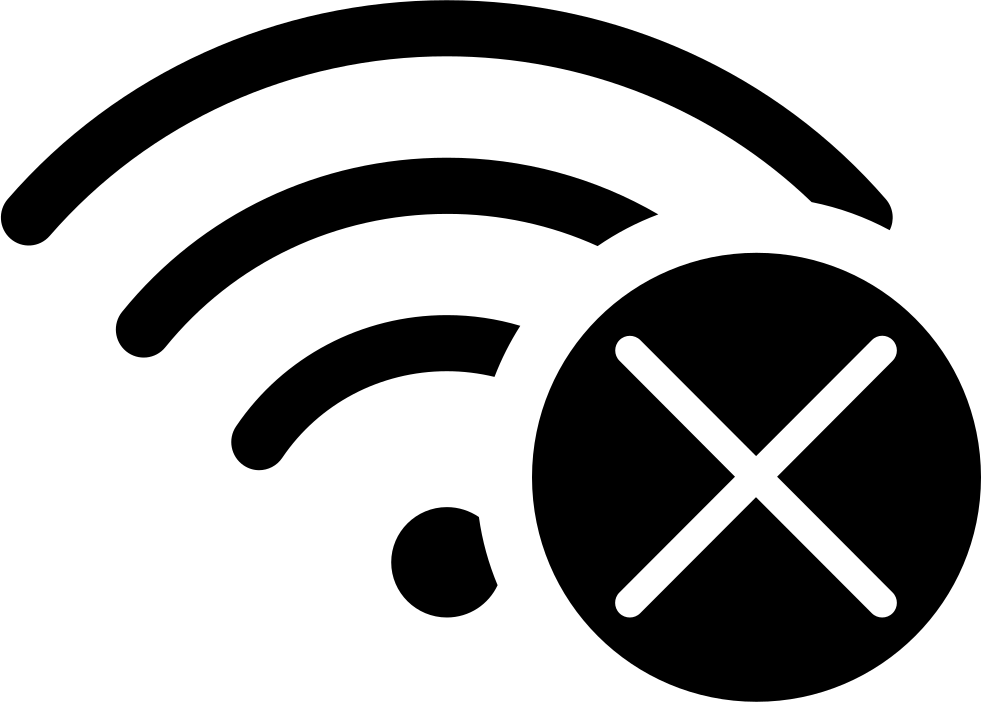 No WiFi Svg Png Icon Free Download (#95407 ...