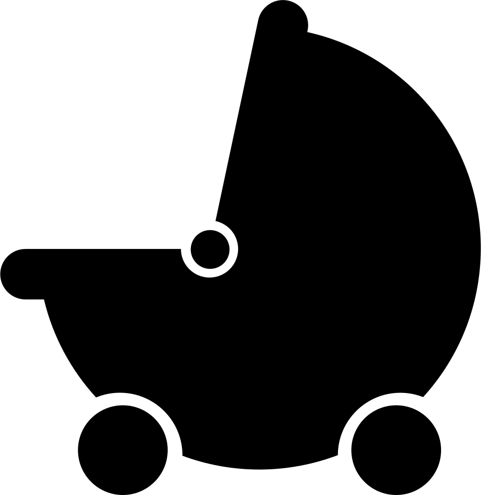 Baby Black Stroller Transport