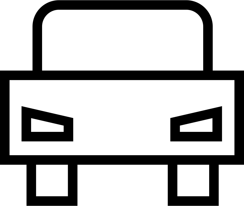 Car Outline Frontal View