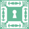 Keyhole Square Design
