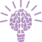 Light Brain Education Symbol