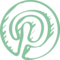 Pinterest Sketched Logo