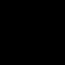 Polygonal Straight Yin Yang Symbol