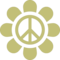 Flower With Peace Sign