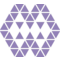 Polygonal Ornament Of Triangles