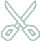 Scissors Cut Remove Stationary Tool Graphic