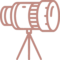 Telescope Camera Lens Photo Tripod Stand