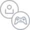 Customer Account Gaming Gamer Profile Joystick