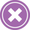 X Delete Cross Menu Option