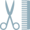 Scissors Comb