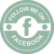 Facebook Social Retro Circular Badge