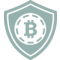 Bitcoin Safety Shield Symbol