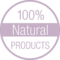 100 Percent Natural Products Tag