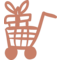 Full Shopping Cart Handmade Commercial Symbol