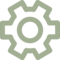 Cogwheel Outline